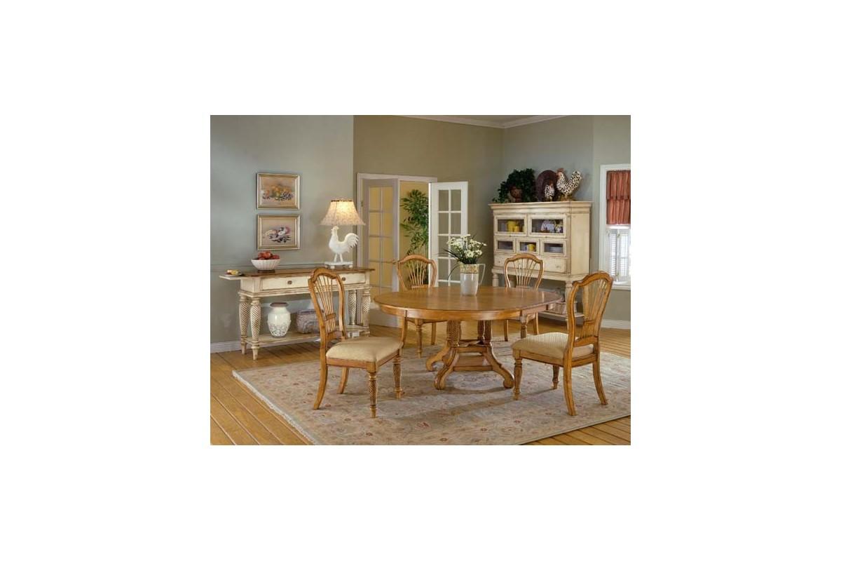 Antique Oak Dining Set. Loading zoom - Wilshire 5pc. Antique Oak Dining Set - Buckeye Furniture Store