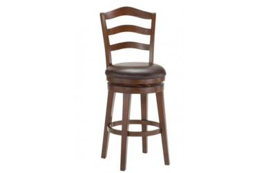 Windsor Wood Swivel Counter Stool